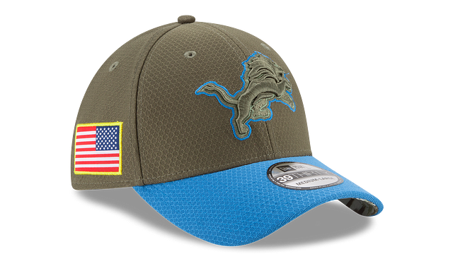 DETROIT LIONS SALUTE TO SERVICE 39THIRTY STRETCH FIT