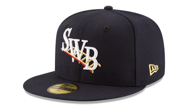 SCRANTON/WILKES-BARRE RAILRIDERS AUTHENTIC COLLECTION 59FIFTY FITTED