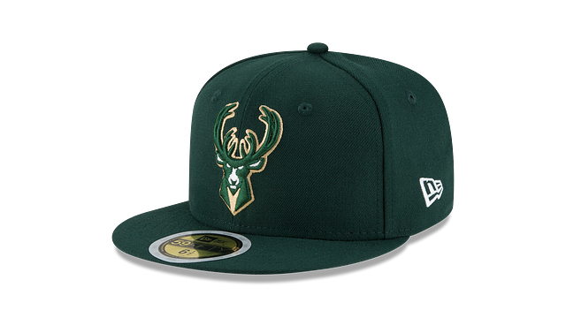 KIDS MILWAUKEE BUCKS TEAM COLOR 59FIFTY FITTED