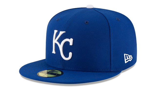 KIDS KANSAS CITY ROYALS AUTHENTIC COLLECTION 59FIFTY FITTED