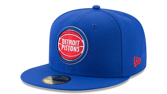 DETROIT PISTONS TEAM COLOR 59FIFTY FITTED