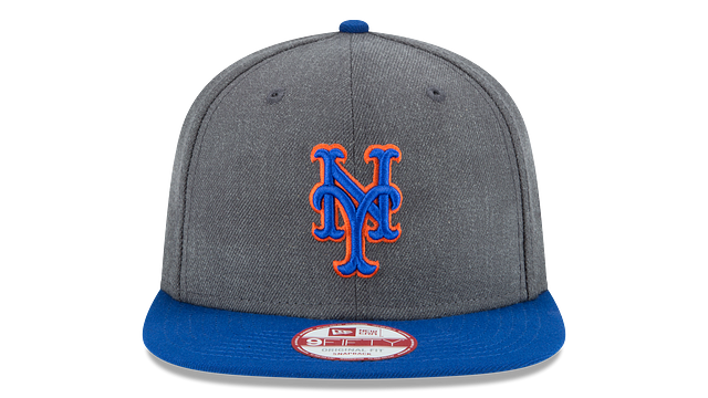 NEW YORK METS GRAPHITE 9FIFTY SNAPBACK