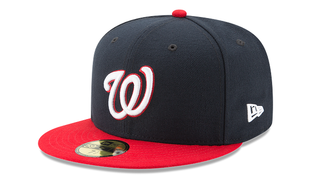 WASHINGTON NATIONALS AUTHENTIC COLLECTION 59FIFTY FITTED
