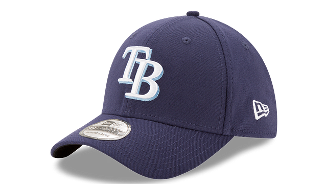 TAMPA BAY RAYS TEAM CLASSIC 39THIRTY STRETCH FIT