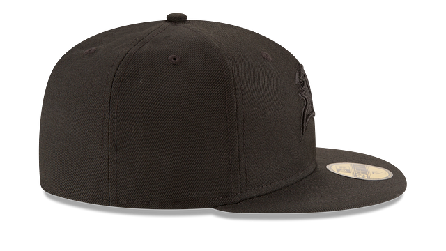 TAMPA BAY BUCCANEERS BLACK ON BLACK 59FIFTY FITTED