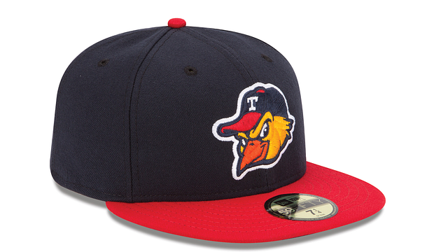 TOLEDO MUD HENS AUTHENTIC COLLECTION 59FIFTY FITTED