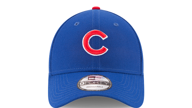CHICAGO CUBS THE LEAGUE 9FORTY ADJUSTABLE Front view