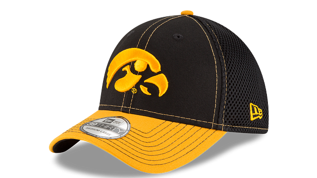 IOWA HAWKEYES TEAM CLASSIC 39THIRTY STRETCH FIT