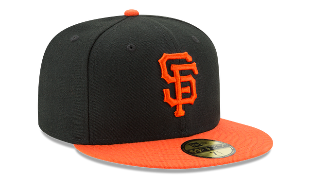 KIDS SAN FRANCISCO GIANTS AUTHENTIC COLLECTION 59FIFTY FITTED