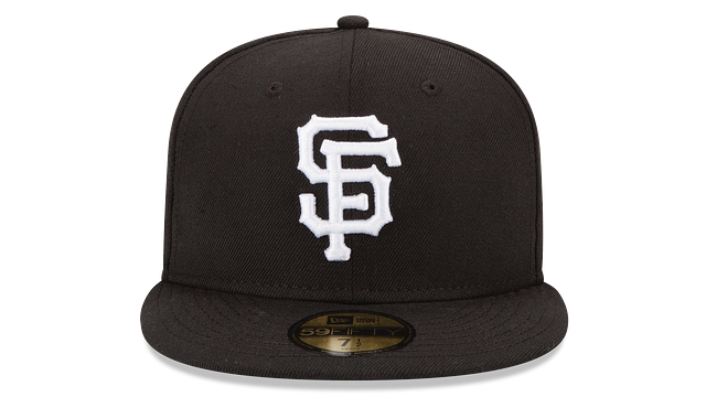SAN FRANCISCO GIANTS BLACK & WHITE 59FIFTY FITTED