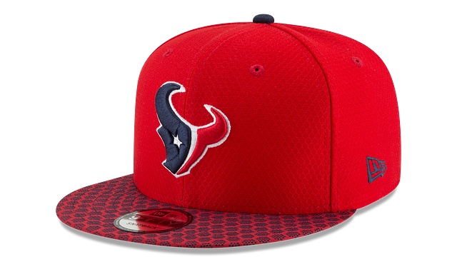 HOUSTON TEXANS OFFICIAL SIDELINE 9FIFTY SNAPBACK