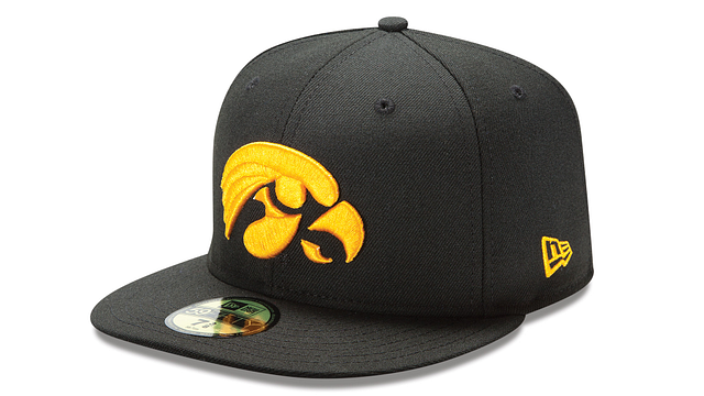 IOWA HAWKEYES BASIC 59FIFTY FITTED