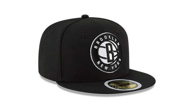 KIDS BROOKLYN NETS TEAM COLOR 59FIFTY FITTED