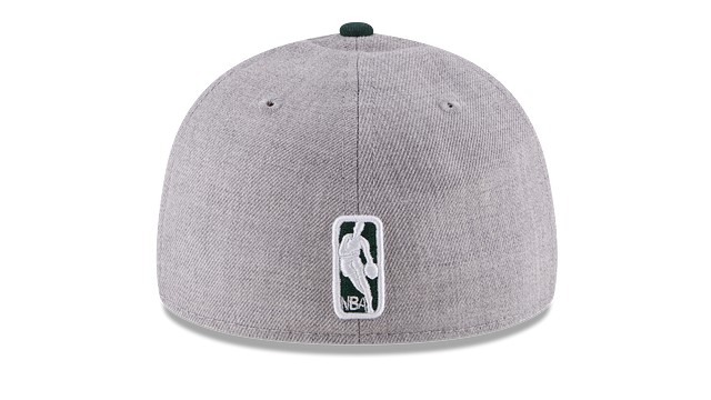 MILWAUKEE BUCKS HEATHER LOW PROFILE 59FIFTY FITTED
