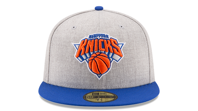 NEW YORK KNICKS HEATHER ACTION 59FIFTY FITTED