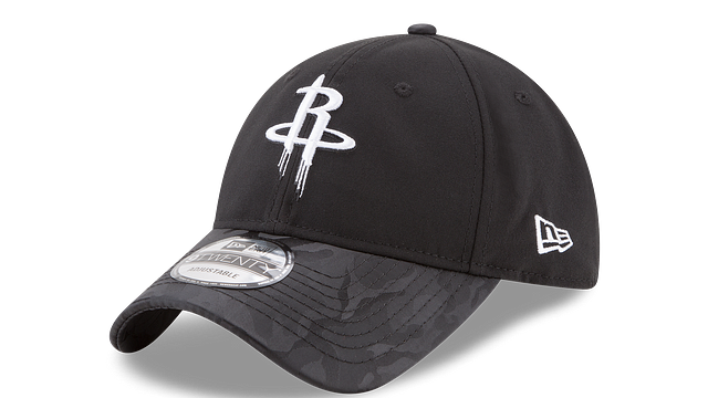 HOUSTON ROCKETS CAMO SHADE 9TWENTY ADJUSTABLE