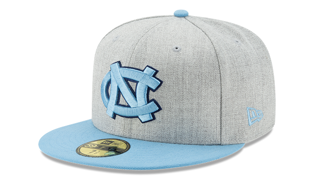 NORTH CAROLINA TARHEELS HEATHER ACTION 59FIFTY FITTED