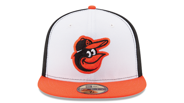 KIDS BALTIMORE ORIOLES AUTHENTIC COLLECTION 59FIFTY FITTED