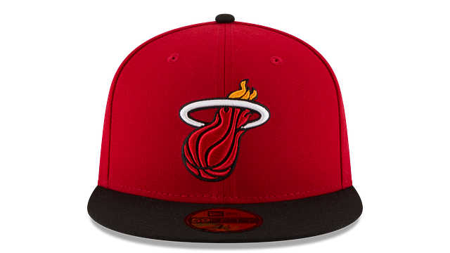 MIAMI HEAT 2TONE 59FIFTY FITTED