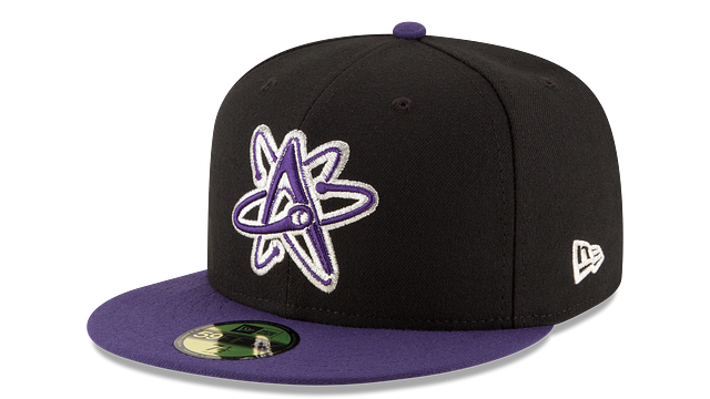 ALBUQUERQUE ISOTOPES AUTHENTIC COLLECTION 59FIFTY FITTED