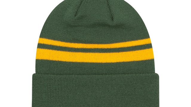 GREEN BAY PACKERS CUFF KNIT
