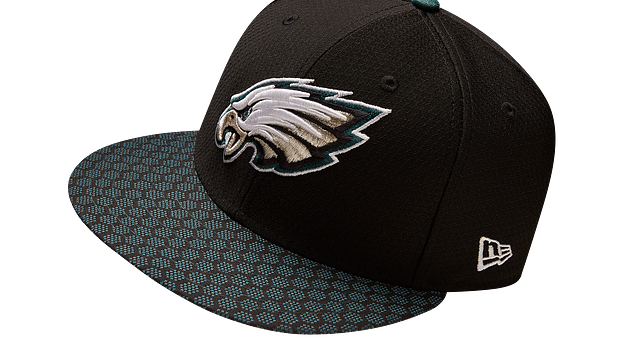 PHILADELPHIA EAGLES OFFICIAL SIDELINE 9FIFTY SNAPBACK