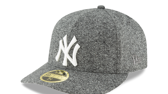 NEW YORK YANKEES TODD SNYDER LOW PROFILE 59FIFTY FITTED 3 quarter left view
