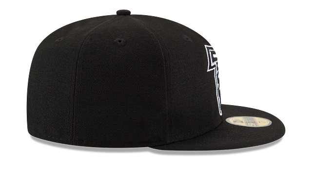 ATLANTA FALCONS BLACK & WHITE 59FIFTY FITTED