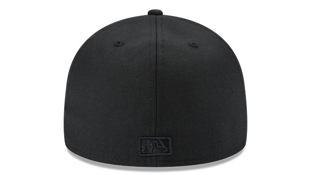 SEATTLE MARINERS BLACK ON BLACK 59FIFTY FITTED