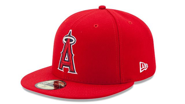 KIDS LOS ANGELES ANGELS AUTHENTIC COLLECTION 59FIFTY FITTED