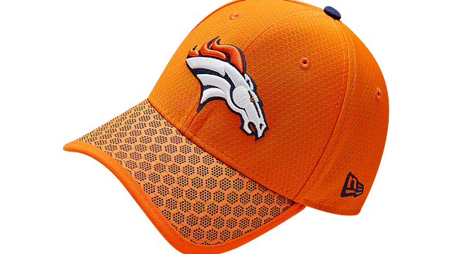DENVER BRONCOS OFFICIAL SIDELINE 39THIRTY STRETCH FIT