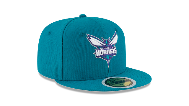KIDS CHARLOTTE HORNETS TEAM COLOR 59FIFTY FITTED