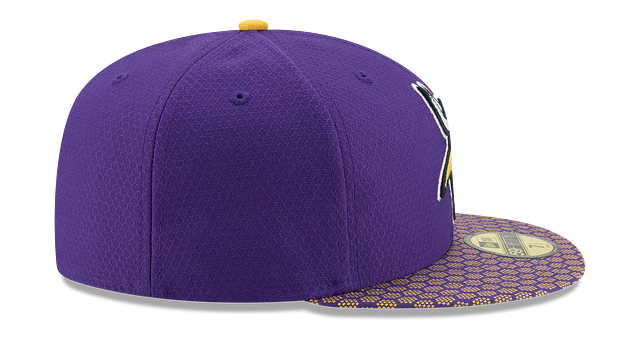 MINNESOTA VIKINGS OFFICIAL SIDELINE 59FIFTY FITTED