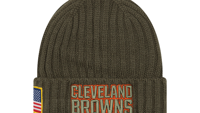 CLEVELAND BROWNS SALUTE TO SERVICE KNIT