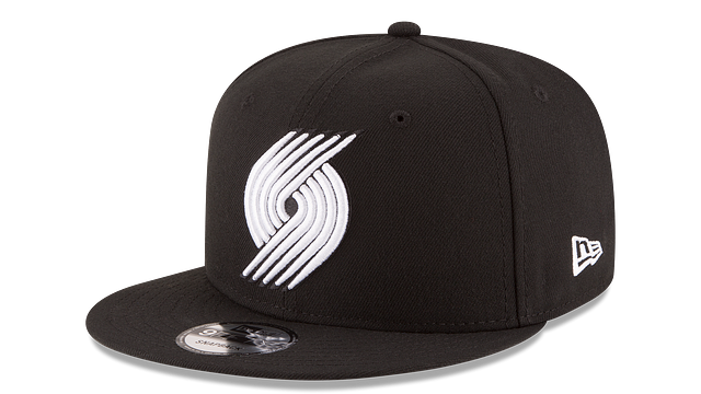 PORTLAND TRAILBLAZERS BASIC BLACK 9FIFTY SNAPBACK
