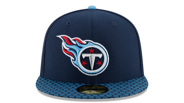 TENNESSEE TITANS OFFICIAL SIDELINE 59FIFTY FITTED