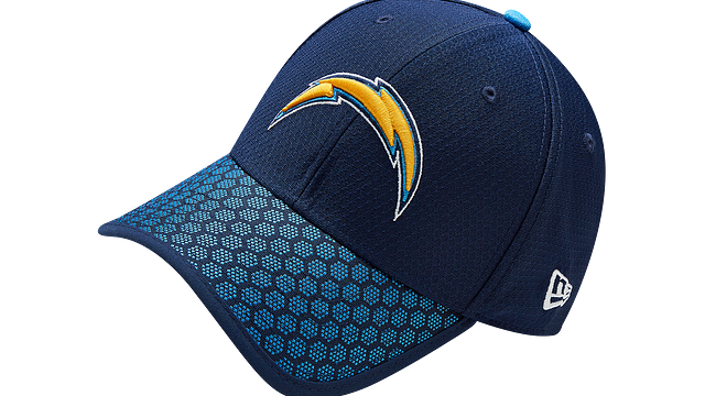 LOS ANGELES CHARGERS OFFICIAL SIDELINE 39THIRTY STRETCH FIT