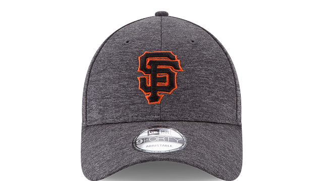 SAN FRANCISCO GIANTS BUSTER POSEY CANCER AWARENESS 9FORTY ADJUSTABLE