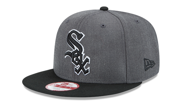 CHICAGO WHITE SOX GRAPHITE 9FIFTY SNAPBACK