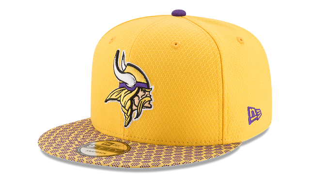 MINNESOTA VIKINGS OFFICIAL SIDELINE 9FIFTY SNAPBACK