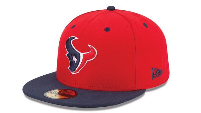 HOUSTON TEXANS 2TONE 59FIFTY FITTED