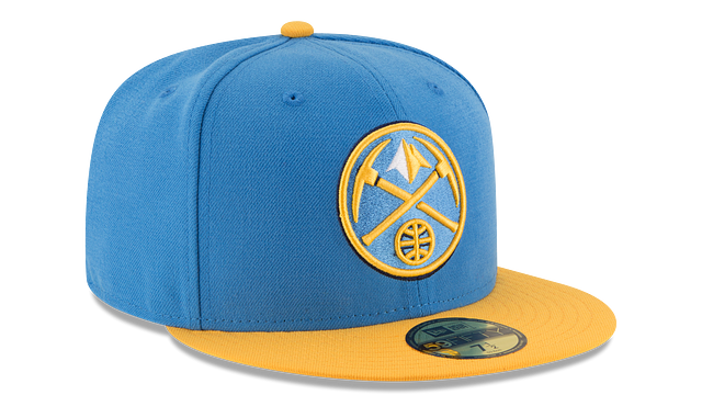 DENVER NUGGETS 2TONE 59FIFTY FITTED