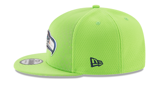 SEATTLE SEAHAWKS COLOR RUSH 9FIFTY SNAPBACK