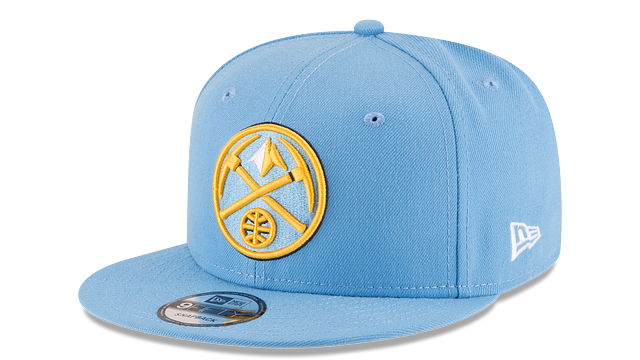 DENVER NUGGETS TEAM COLOR 9FIFTY SNAPBACK
