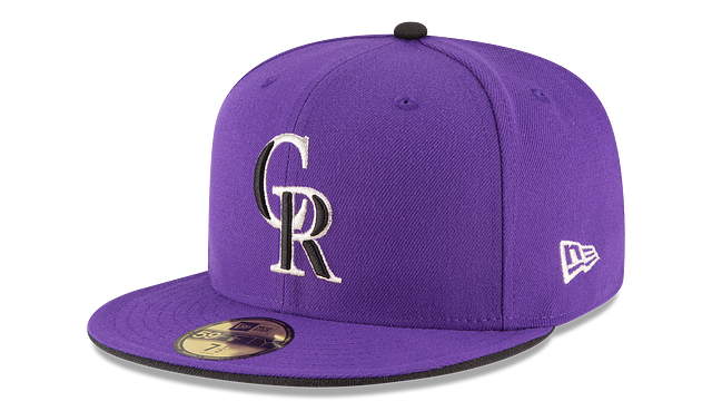 COLORADO ROCKIES AUTHENTIC COLLECTION 59FIFTY FITTED