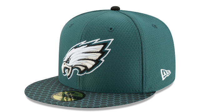 PHILADELPHIA EAGLES OFFICIAL SIDELINE 59FIFTY FITTED