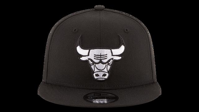 CHICAGO BULLS BASIC BLACK 9FIFTY SNAPBACK
