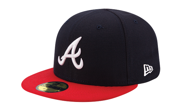 KIDS ATLANTA BRAVES MY FIRST AC 59FIFTY FITTED