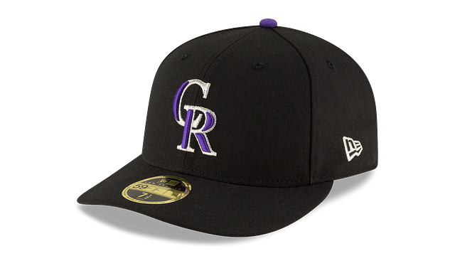 COLORADO ROCKIES AUTHENTIC COLLECTION LOW PROFILE 59FIFTY FITTED