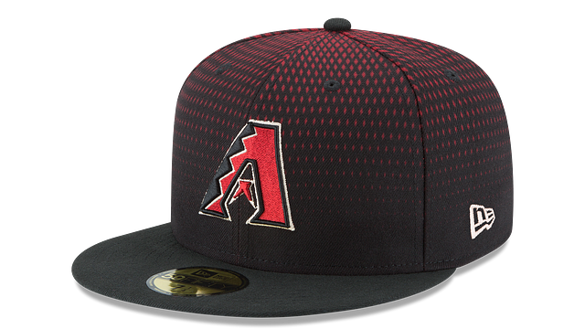 KIDS ARIZONA DIAMONDBACKS AUTHENTIC COLLECTION 59FIFTY FITTED